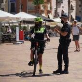 policia local bicicleta la vila joiosa