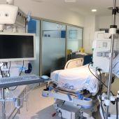 UNA CAMA DE LA UCI DEL HOSPITAL DE CAN MISSES EN IBIZA