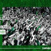 Campaña de abonados Racing 2021-2022