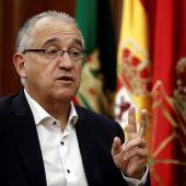 El alcalde de Pamplona, Enrique Maya