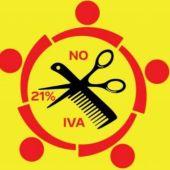 No al IVA del 21% peluquerías