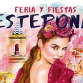 Cartel de la feria de Estepona
