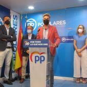 El PP reivindica al Gobierno de España que reponga los vuelos declarados OSP en el Aeropuerto de Badajoz