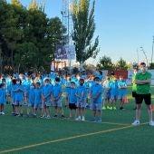 El XVI Campus de Fútbol da comienzo con 110 participantes