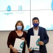 Ana Serna y Carlos Mazón presentan el Plan + Agua de la Diputación