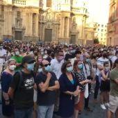 Justicia para Samuel en plaza Belluga Murcia