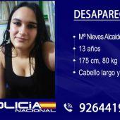Se busca a una menor de 13 años desaparecida de Puertollano