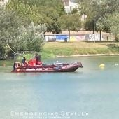 Labores de búsqueda en el Guadalquivir