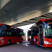 Autobuses híbridos Bilbao