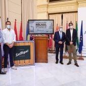 Rueda de prensa de presentación de 'Málaga, ciudad magnífica