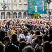 Concentración del lunes por Samuel en A Coruña