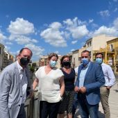 Ana Serna con los alcaldes del Pp de la Vega Baja alicantina