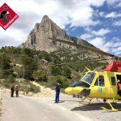 Salvan a una joven que se perdió en el Puig Campana de Finestrat