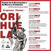 Orihuela diseña un programa de fiestas adaptado a las circunstancias sanitarias