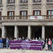 Vitoria-Gasteiz condena el asesinato machista