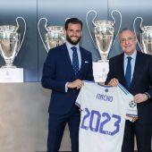 Nacho Fernández renueva con el Real Madrid hasta 2023