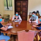 Reunión con médicos del mundo
