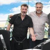Agustín Jiménez y Carlos Chamarro presentan su comedia 'Perdidos'