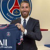 Ya es oficial: Sergio Ramos, nuevo jugador del PSG