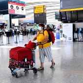 Terminal de llegadas del aeropuerto londinense de Heathrow
