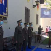 Acto de la toma de posesión de Rafael Matilla como subdelegado de Defensa.