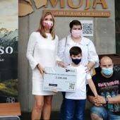 EL Museo Jurásico de Colunga recibió esta tarde a su visitante 2.500.000