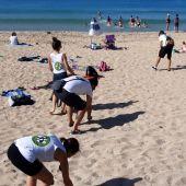 Gran éxito de la recogida de basura en la Playa de Can Pere Antoni con Europa FM y el Ayuntamiento de Palma