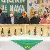 El Festival de la Sidra de Nava premió este miércoles las mejores sidras