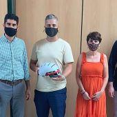 Una empresa de cascos inteligentes se instalará en Romica para mejorar la seguridad vial