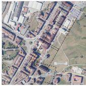 El Ayuntamiento de Siero presenta el nuevo tramo de carril bici en Lugones