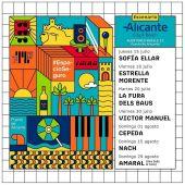 Cartel de Escenario Alicante City & Beach de Muelle 12