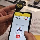 Nuevo sistema de pulsera NFC en el cuerpo de bomberos