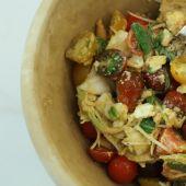 Receta de Robin Food para preparar una ensalada de tomate