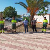 El Centro Especial de Empleo de ADIS asume la limpieza de zonas verdes en San Fulgencio