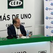 Sergio Rodríguez, director general de Pfizer