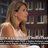"""Raquel Sánchez, ministra de Transporte, sobre la ley de vivienda: """"Se está trabajando para garantizar el acceso a la vivienda y que los alquileres no suban de una forma abusiva"""""""