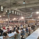 Examen en IFA de oposición a auxiliar administrativo del Ayuntamiento de Elda.