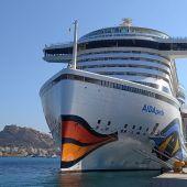El Aida Perla en el puerto de Alicante