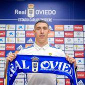Erik Jirka, nuevo jugador del Real Oviedo