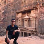 Galo Pablos en Jordania