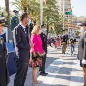La delegada del gobierno en Alicante en el acto de toma de posesión de nuevos agentes del CNP