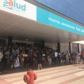 Concentración de apoyo a las enfermeras en el Hospital San Jorge