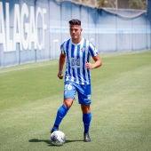 Ismael se viste como nuevo jugador malaguista