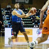 Alexis Bartolomé, jugador del Liberbank Oviedo Baloncesto
