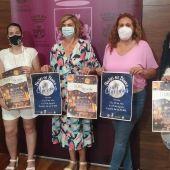 Instantes de la presentación de la iniciativa Noches en Blanco en el Ayuntamiento de Chiclana