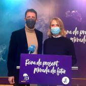 Antoni Amengual y Lina Pons, expresidente y exvicepresidenta del El PI - Proposta per les Illes