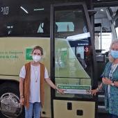 Presentación de los purificadores en la red de autobuses