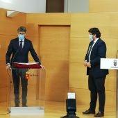 Luis Alberto Marín anuncia una gestión continuista al frente de la consejería de Economía, Hacienda y Administración Digital