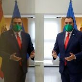 Adrián Barbón, presidente del Principado, hizo balance de sus dos años al frente del Gobierno