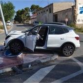 La Guardia Civil investiga a un conductor que tuvo un accidente tras darse a la fuga para evitar ser sancionado